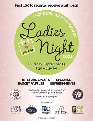 Madison Ladies Night Postponed Due to Weather