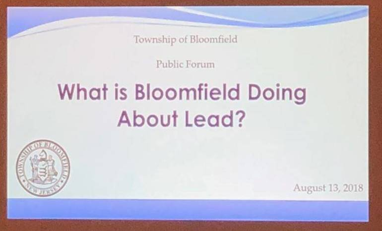Bloomfield Takes Proactive Approach Dealing with Lead