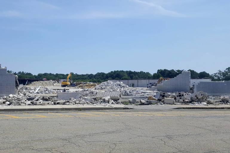 Ledgewood Walmart demolition.jpg