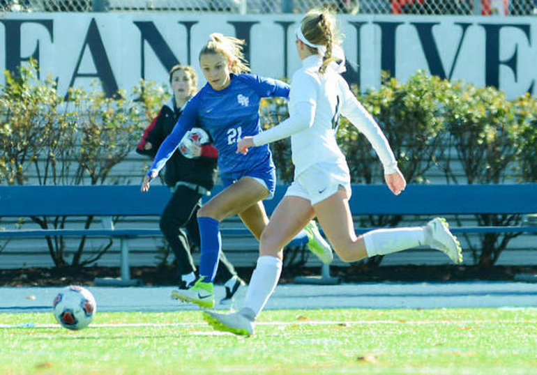 Scotch Plains-Fanwood's Leah Klurman (21).