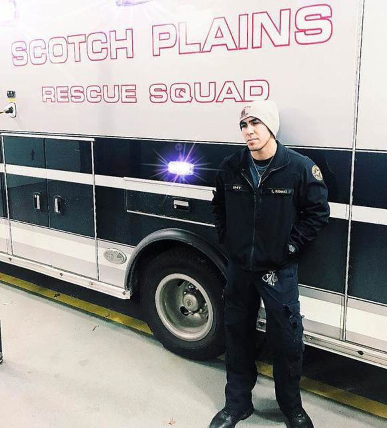 Leo Ribau joined the Scotch Plains Rescue Squad's cadet program in 2016 at the age of 16.