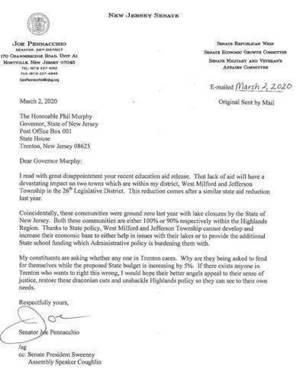Carousel image 871e167644c9297e1443 letter to governor pennacchio