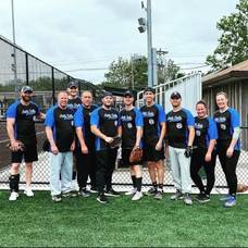 Little Falls PBA 346 Take Part in Families Behind the Badge Softball Tournament at Sports and Rec Complex