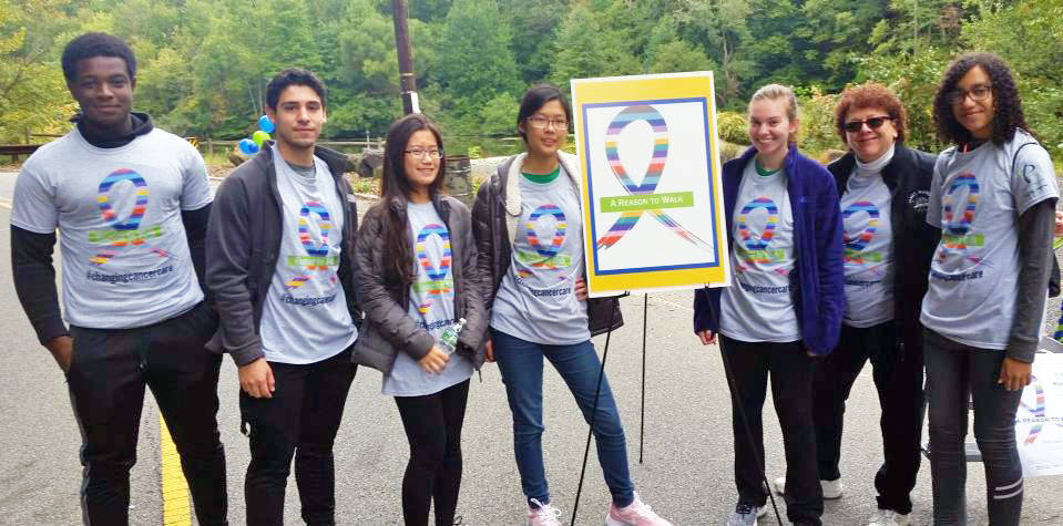 LHS students and Mrs Bremmer participate in A Reason to Walk.jpg