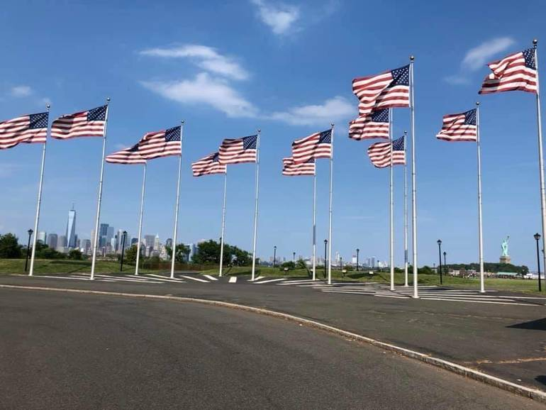 Liberty State Park Flags.JPG