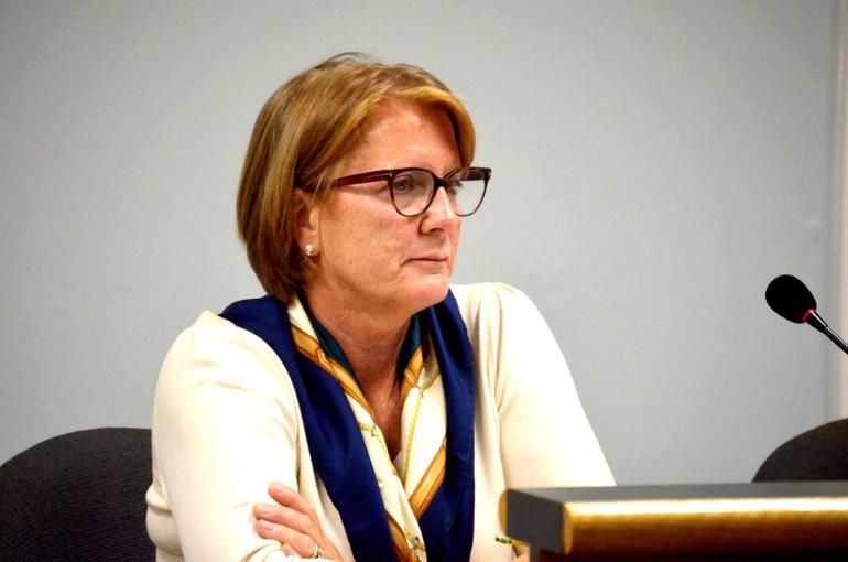 Fanwood's Director of Economic Development Liz Jeffery
