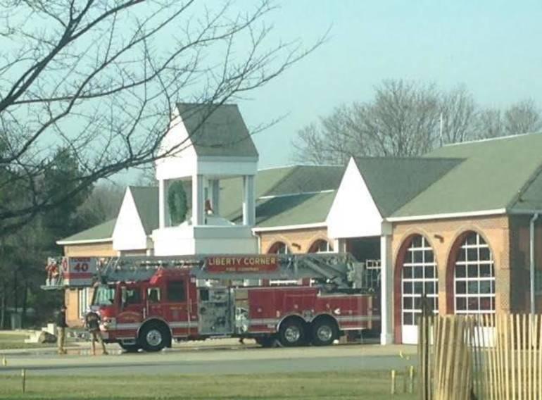 Liberty Corner firehouse