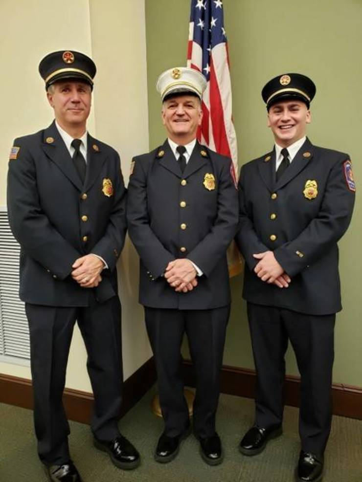 Liberty Corner Fire Co. officers, 2020