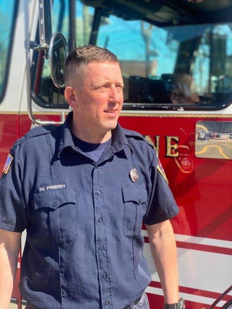 Linden Firefighter Raises Awareness About Organ and Tissue Donation