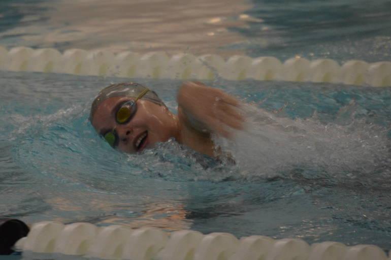 Scotch Plains-Fanwood girls swimming's Lily Holston.