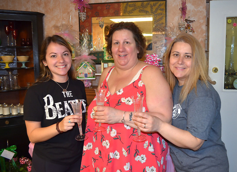 Apple Blossom Flower Shop celebrated 25 years in business in Scotch Plains on Saturday