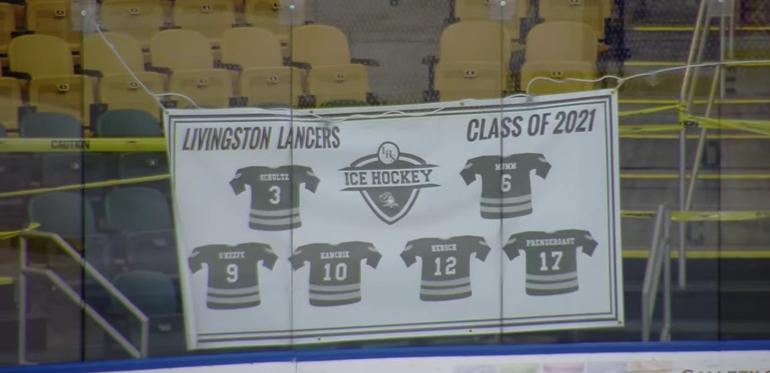 Good Health, Better Defense Lead to Livingston Ice Hockey Success