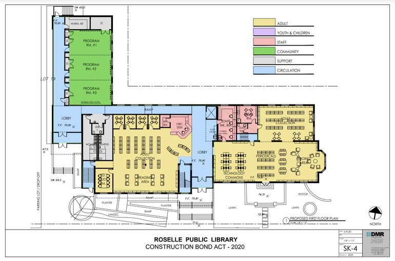 Roselle Public Library Expansion Gets Boost from Partnership with Union County Improvement Authority