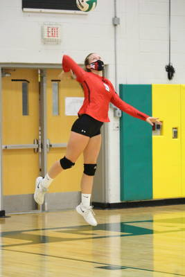 Carousel image 3a1c67798da5d71e7f4f lindsey lorenz from the hunterdon central women s volleyball team is named tapinto athlete of the week.0197