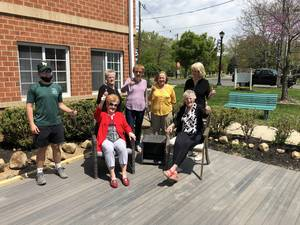 Eagle Scout Completes Project Benefiting Older Adults in New Providence