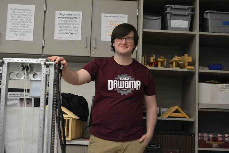 LMHS Host FRC DAWGMA Gabe Student Captain now attends Carnegie Mellon Mat- Statistics and AI 1-5-2019 (91).JPG