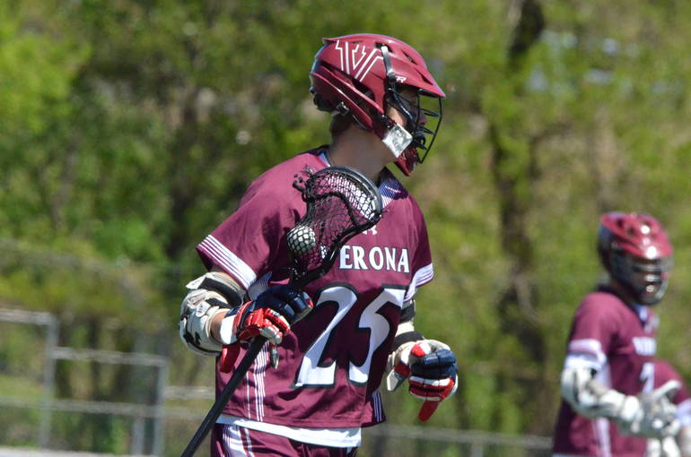 Boys Lacrosse: Undefeated Verona Withstands Cranford, 11-9