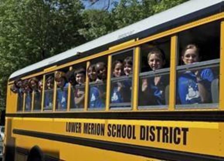 Lower Merion LMSD school bus with KIds.jpg