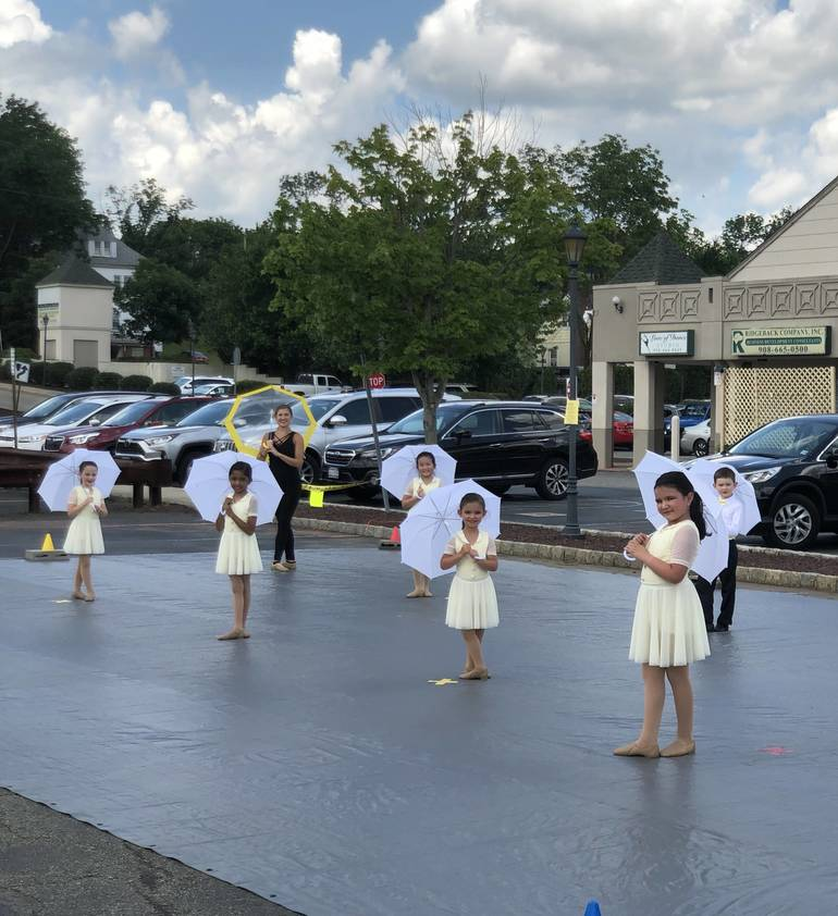 Local Dance Studio Delivers 'Socially Distanced' Outdoor Performance