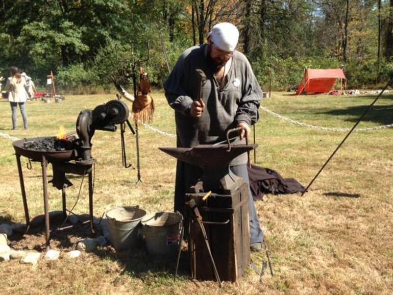 Lord Stirling's blacksmith