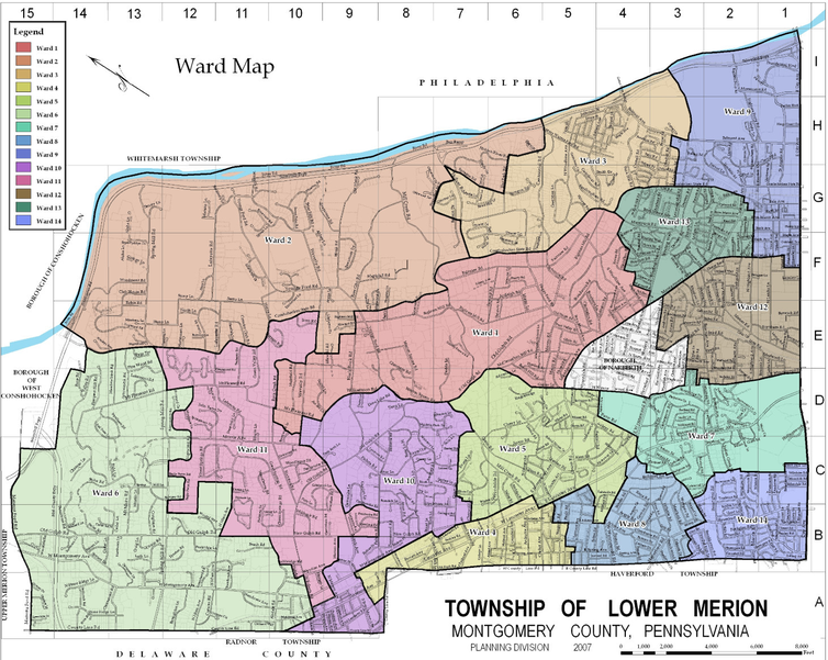 Lower Merion Township Ward Map.PNG