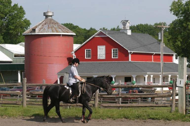 Riding lessons at Lord Stirling Stable