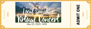 Carousel image 840c79a602309ec26c76 local sunshine concert ticket