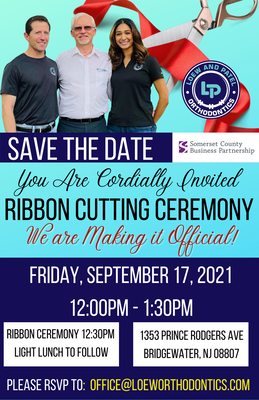 9/17 Dr. Loew and Patel Orthodontics Ribbon Cutting!
