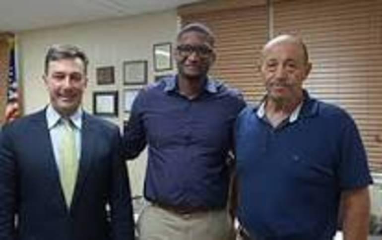(l to r) RBR Superintendent Louis Moore, Principal Julius Clark and BOE President John Garafola.jpg