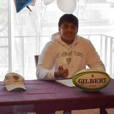 Carousel image f22a1780017ccb9307ef lucas chirico at his st. bonaventure signing ceremony