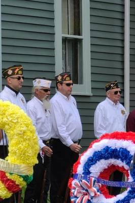 Scenes from the 2021 Memorial Day Ceremony in Kenilworth