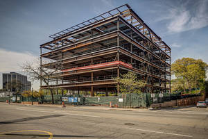 SJP Properties Announces Topping Out of  M Station at Morristown