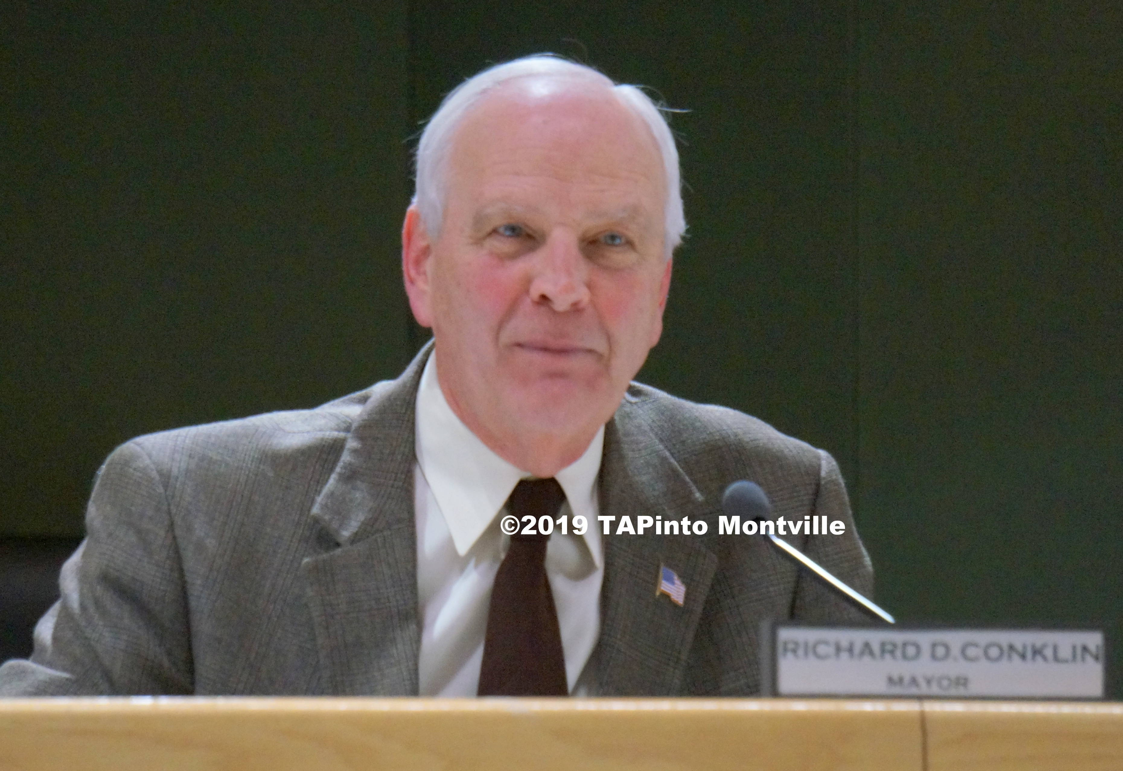 Mayor Richard Conklin ©2019 TAPinto Montville.JPG