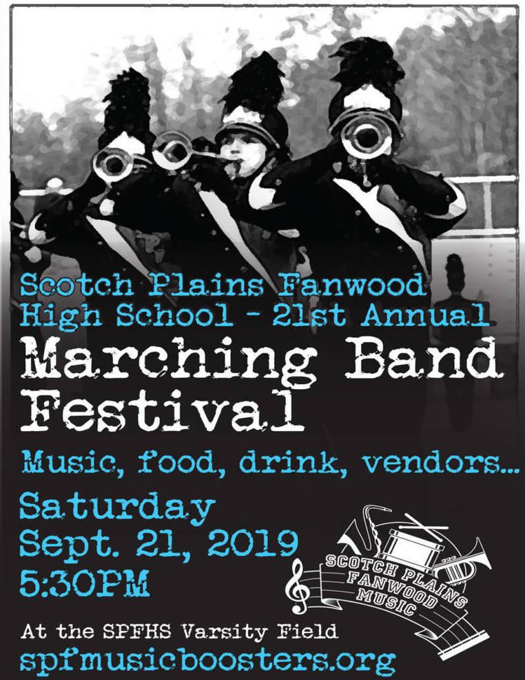 Marching Band Festival at Scotch Plains-Fanwood High School