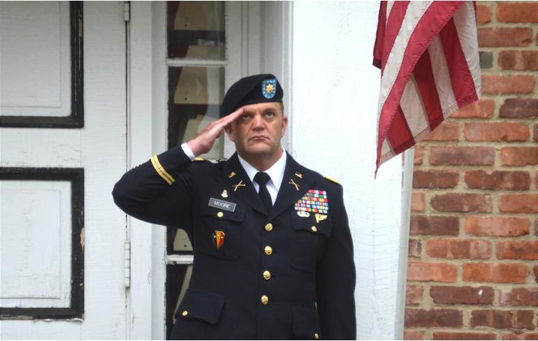 Major Patrick Moore, Fanwood's 2020 Grand Marshal.