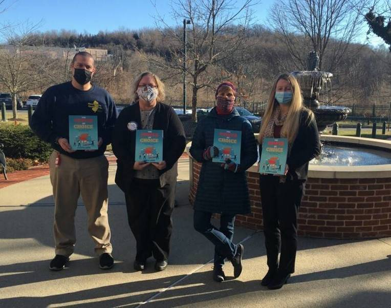 Branchville Rotarians Facilitate Book Donation to Project Self-Sufficiency