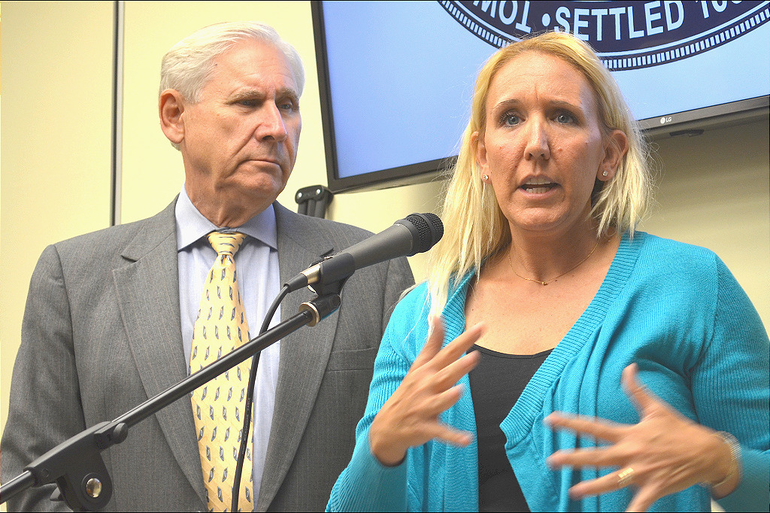 Scotch Plains Mayor Al Smith and Jill Pall.png
