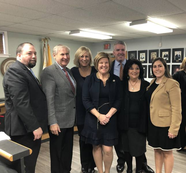 Fanwood's Mayor, Council Sworn in by Gov. Murphy and Rep. Bonnie Watson Coleman at Reorganization Meeting