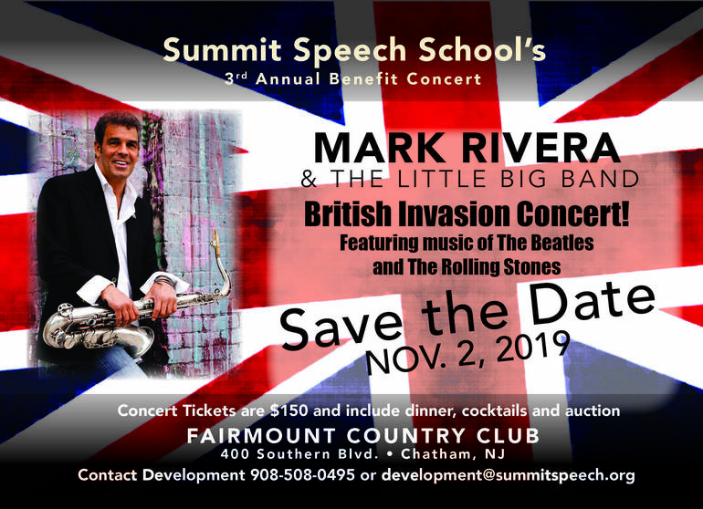 Mark Rivera Concert Save the Date