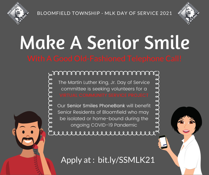 Would You Like to Make a Senior Smile Today?