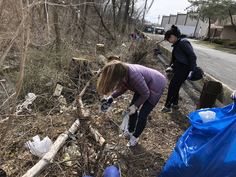 March 24 Clean Up - On the Bank, By the Bank - 1.jpeg
