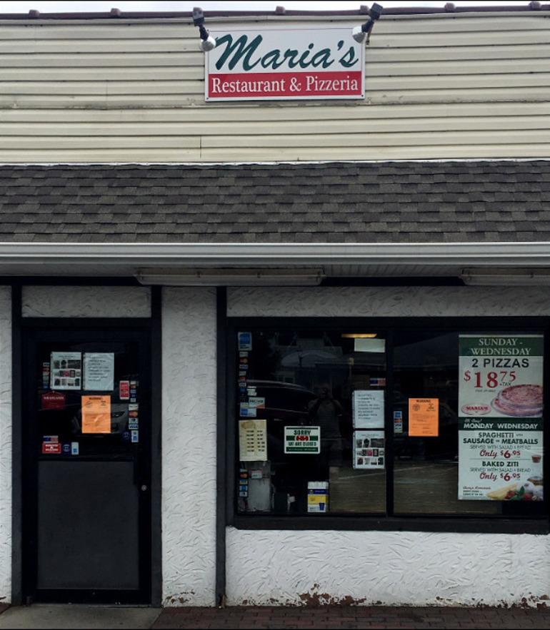 Maria's Pizza in Scotch Plains closed in 2019.
