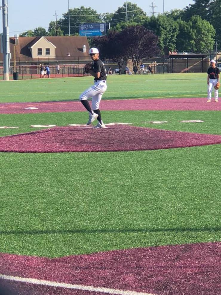 Mario Gomez pitch for Game 2 vs St Mary on Weds July 15 2020.jpg