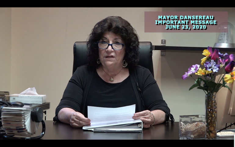 Mayor Dansereau Resignation