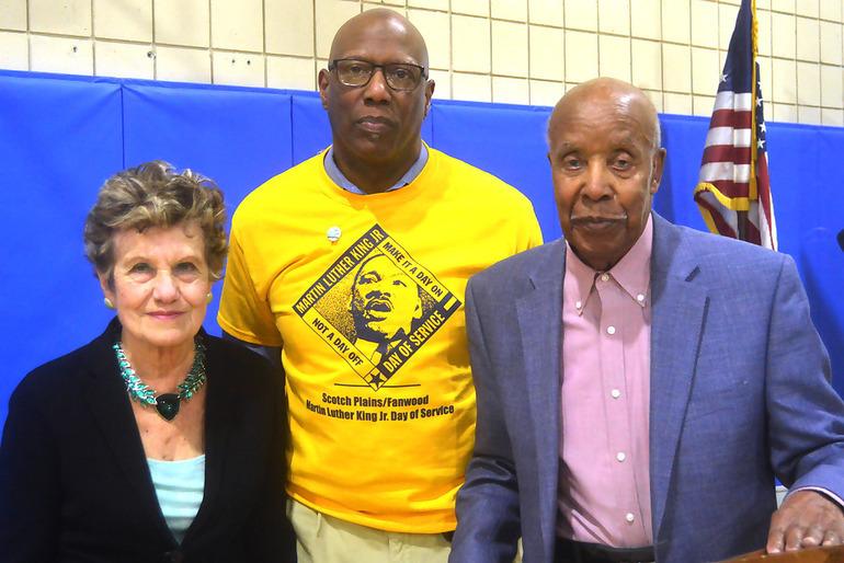 Marie Leppert, Lelan _McGee and Tuskegee Airman Malcolm Nettingham.png