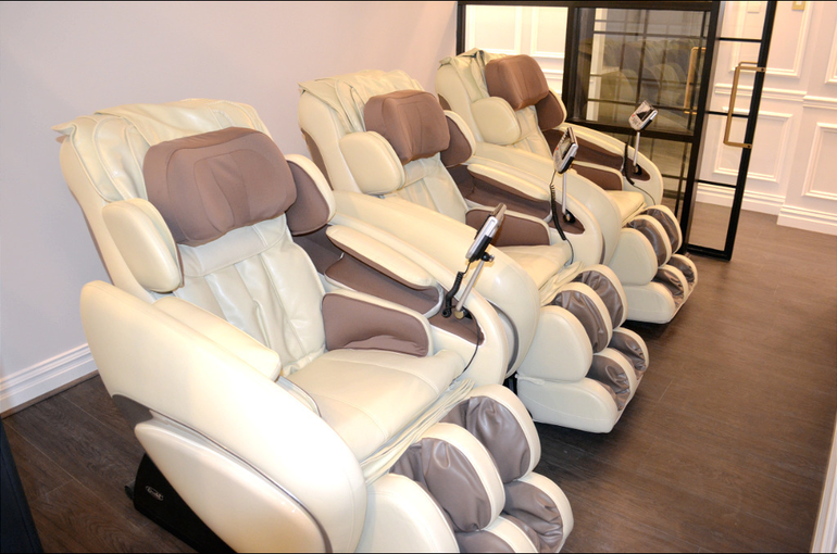 Massage chairs at Scotch Plains-Fanwood Dental Care.png