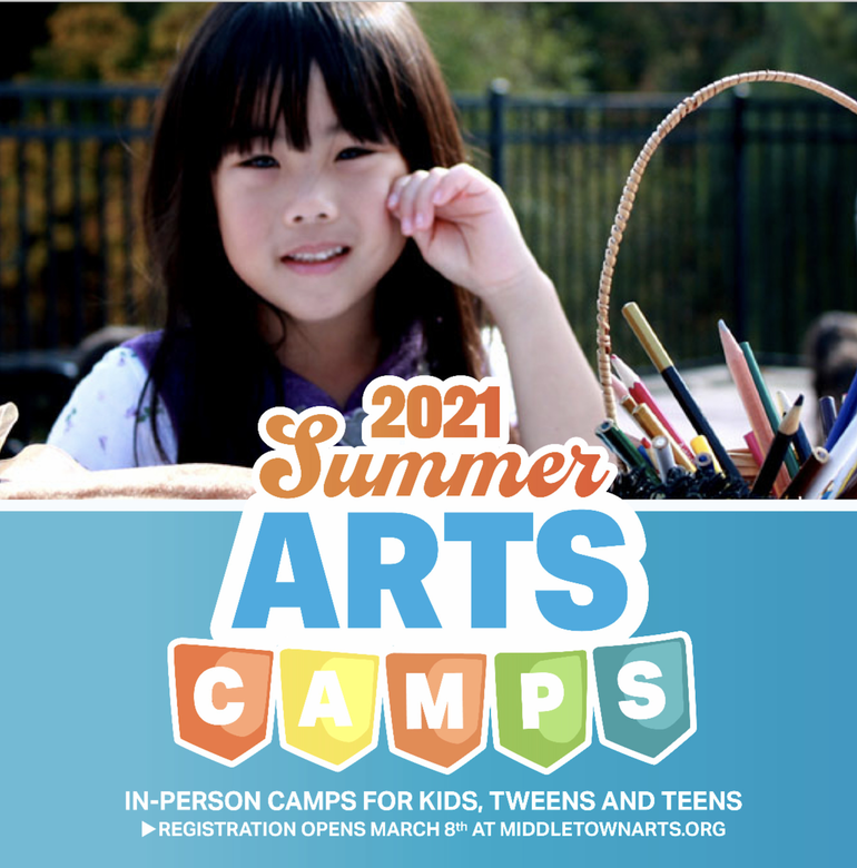 ☀️COME JOIN ONE OF THE MOST POPULAR SUMMER CAMPS IN THE AREA: THE MIDDLETOWN ARTS CENTER ANNOUNCES SUMMER CAMPS SCHEDULE.