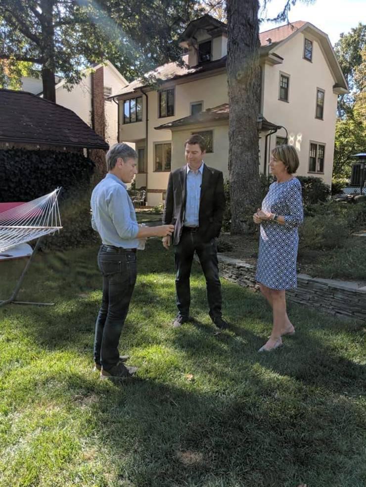 Malinowski meets with Brian and Kathleen