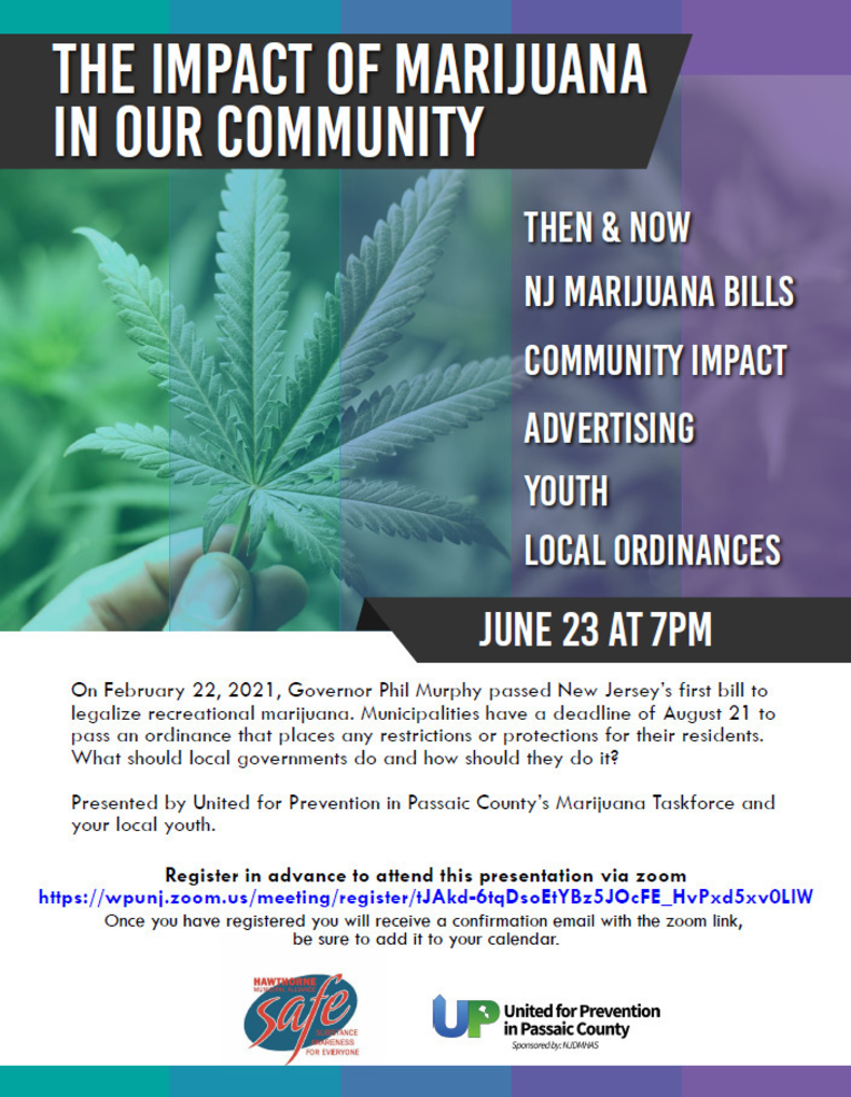 """""""The Impact of Marijuana in Our Community"""""""