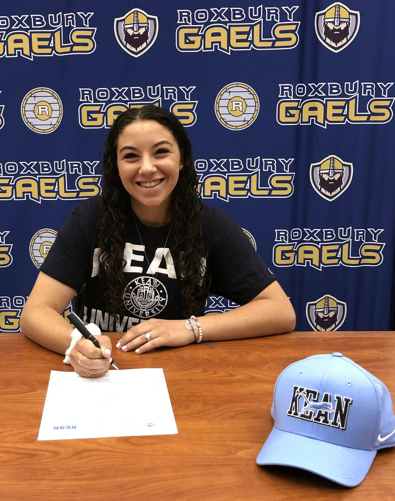 Marisa Kest Signs to Kean.jpg